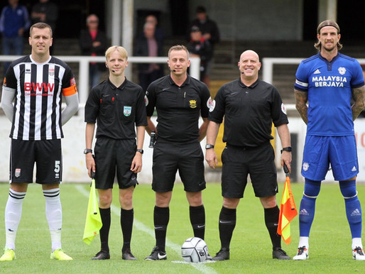 Sunday's referee is….