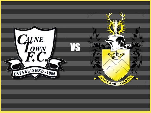 Match Report- Calne Town V Melksham Town