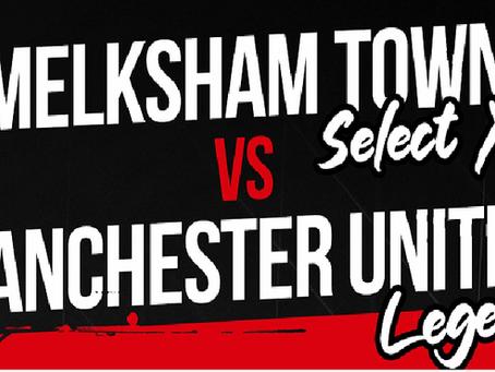Melksham Town FC XI v Manchester United Legends