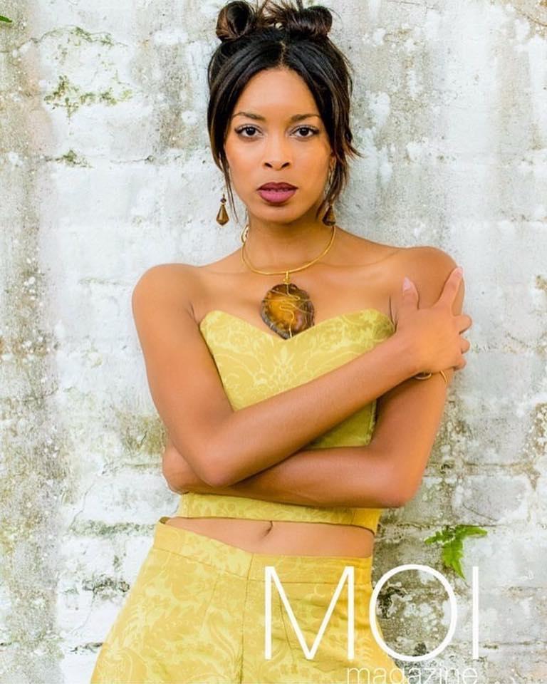 Arielle on Moi Magazine Cover