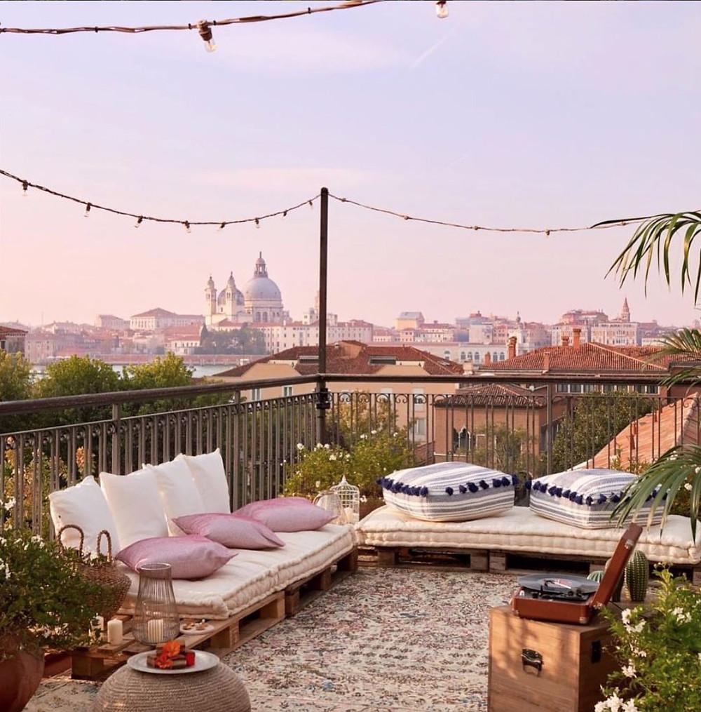 Belmond Hotel Cipriani terrace