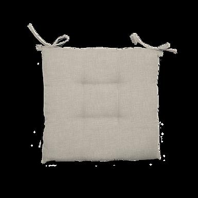 Cuscino Creta trapuntato grigio