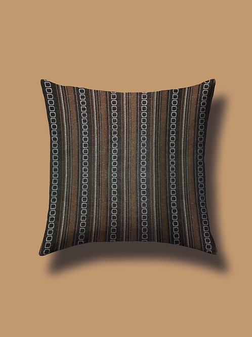 Cuscino Madras Marrone