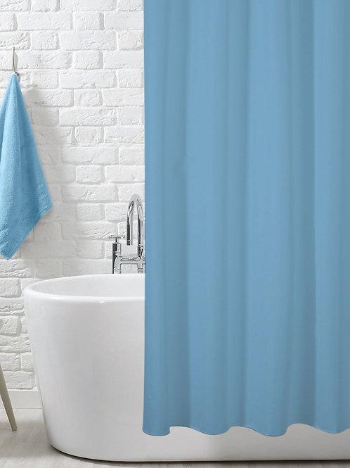 Tenda per doccia tinta unita in PVC disponibile in 5 colori