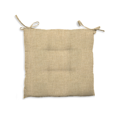 Cuscino Creta trapuntato beige
