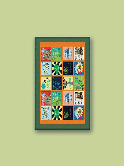 """Tappeto """"Five Street"""" stampato in Digitale"""