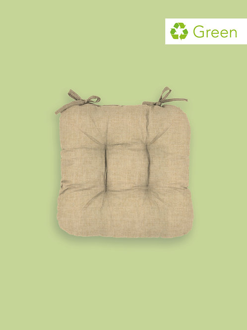 Cuscino Gerbera tinta unita in misto cotone