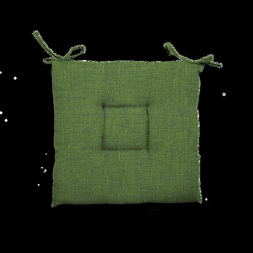 Cuscino Creta trapuntato verde