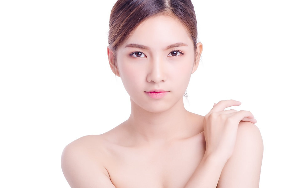 Asian young beautiful woman Beauty portr