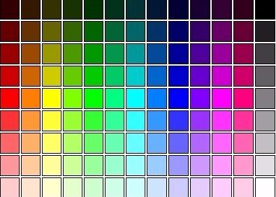 LED colour options
