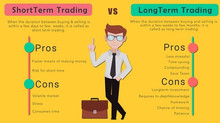 Short-term trading vs long-term trading