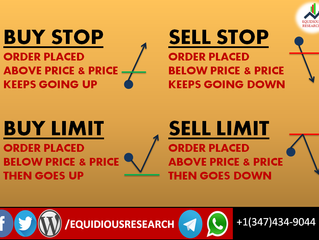 BASIC TYPES OF FOREX ORDERS