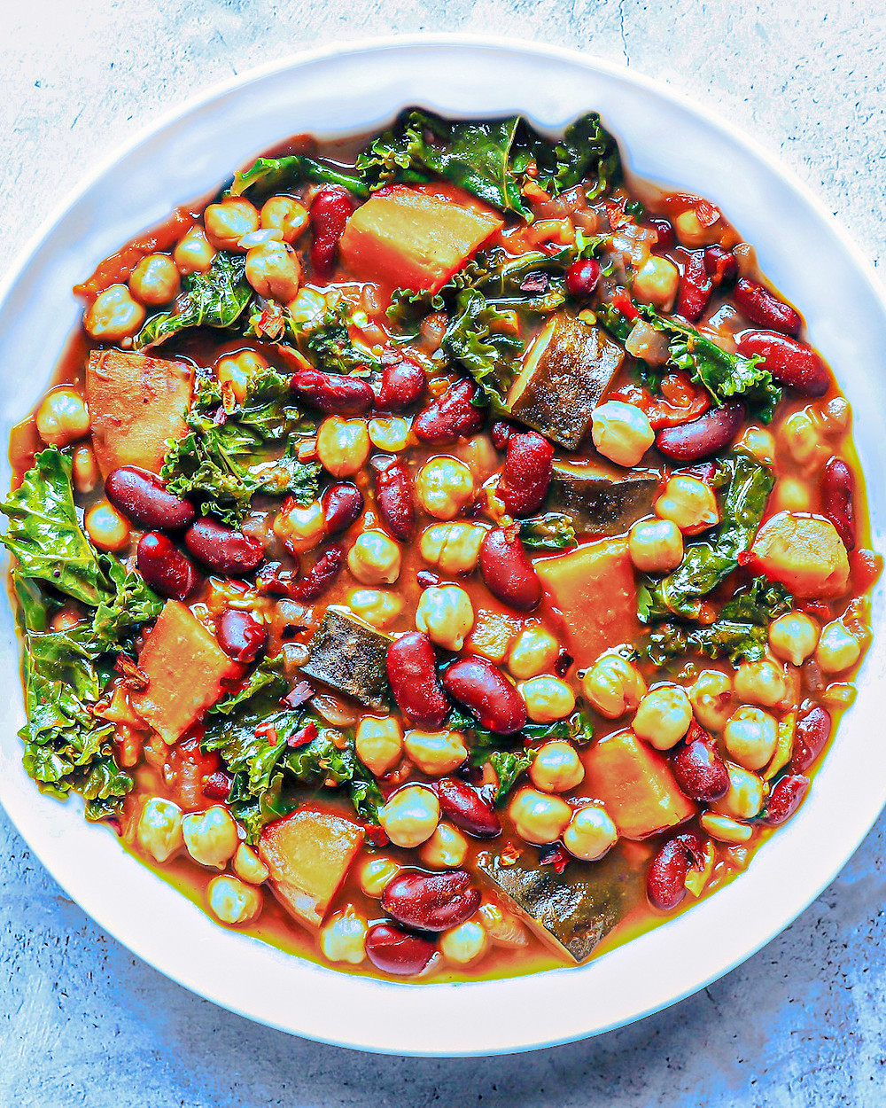 Hearty Bean & Vegetable Soup