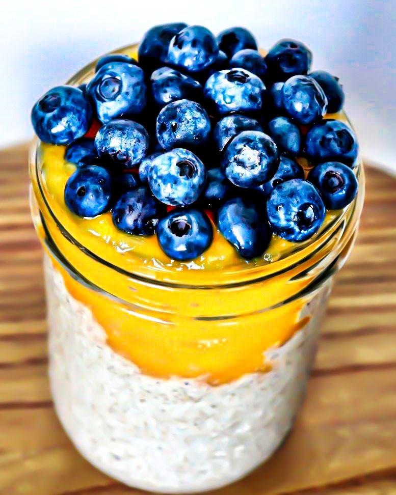 Blueberry & Mango Chia Pudding
