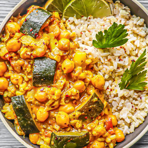 Vegetable Curry with Chickpeas