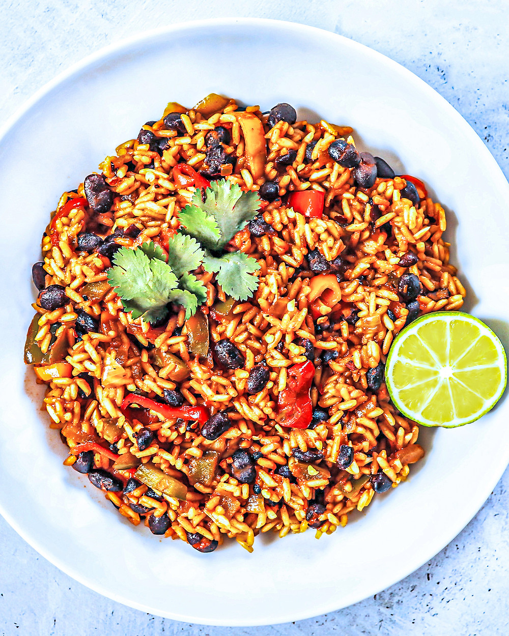 Spicy Rice & Beans