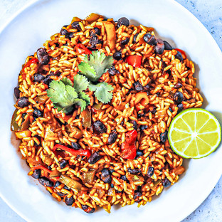 Spicy Rice + Beans
