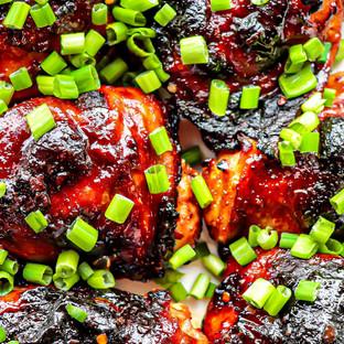 Sweet & Spicy Chicken Thighs