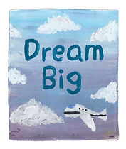 Frasier Thomas Dream Big white backgroun