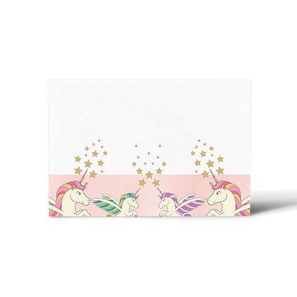 Unicorn Flat Cards (Set of 40)