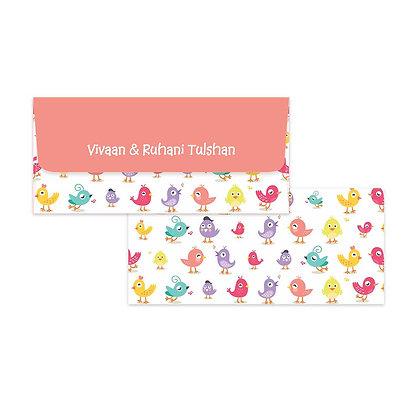 Birdies Money Envelopes (Set of 20)