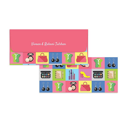 Glam Girl Money Envelopes (Set of 20)