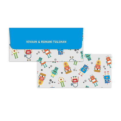 Robots Money Envelopes (Set of 20)