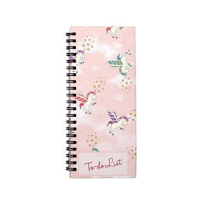 Unicorn To-Do Notebook