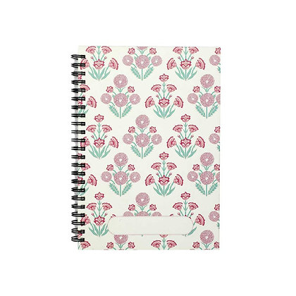 Mughal Phool Journal Notebook