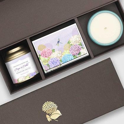 Hydrangeas Festive Box