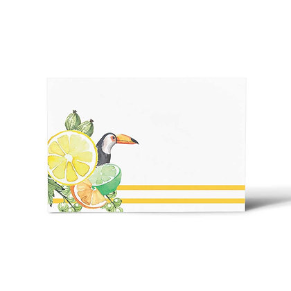 Citrus Summer Flat Cards (Set of 40)