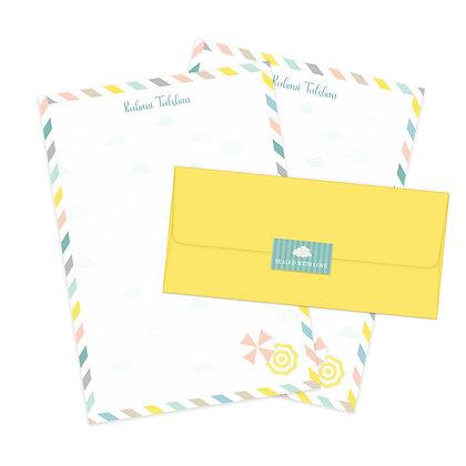 Monsoon Letter Set