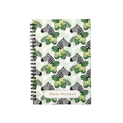 Peeping Zebras Journal Notebook