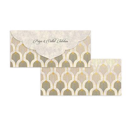 Gatsby Money Envelopes (Set of 20) - Grey/Black
