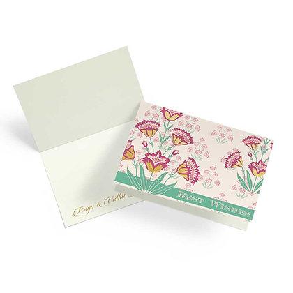 Mughal Phool Fold Cards (Set of 20)