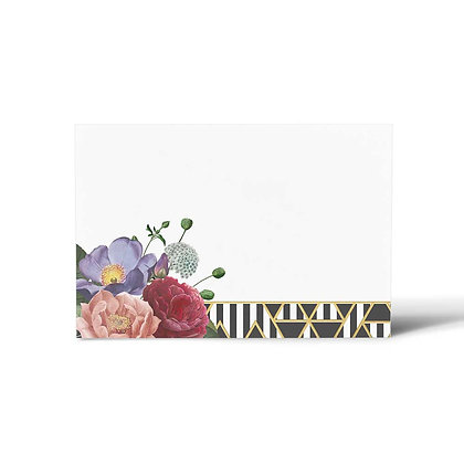 Rosette Flat Cards (Set of 40)