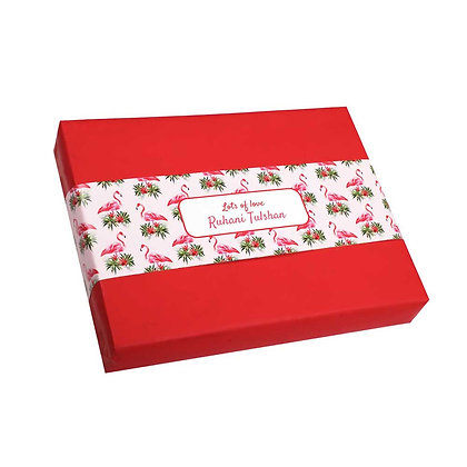 Flamingo Personalised Banner Bands (Set of 20)