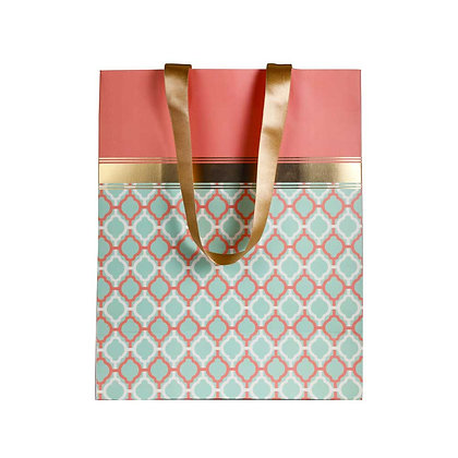 Pastel Jaali Big Bags (Set of 3)