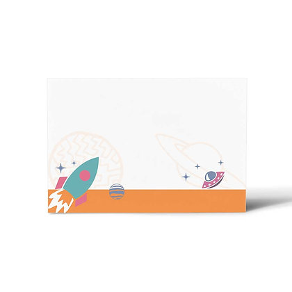 Space Flat Cards (Set of 40)