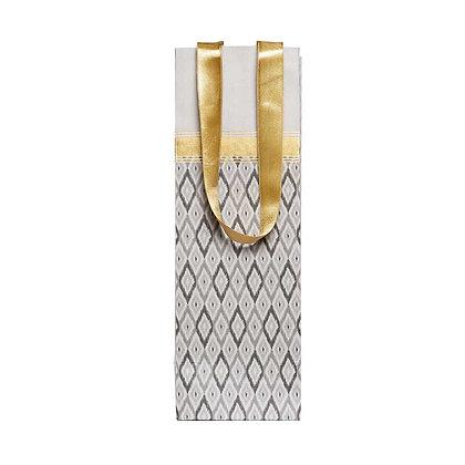 Ikat Wine Bags (Set of 3)