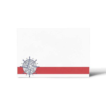 Nautical Flat Cards (Set of 40)