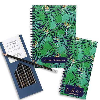 Desk Essentials Box-Exotic Palm