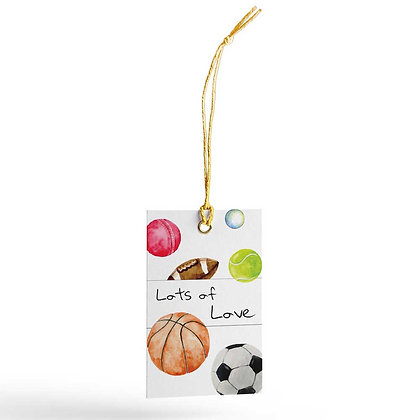 Game On Gift Tags