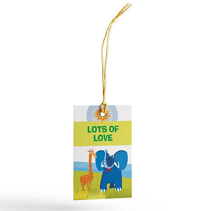 Jungle Animals Gift Tags