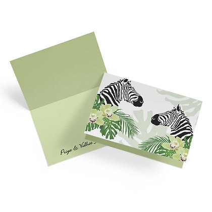 Peeping Zebras Fold Cards (Set of 20)