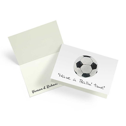 Game On Fold Cards (Set of 20)