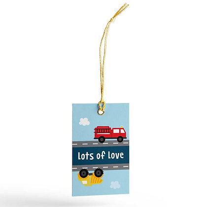 Trucks Gift Tags (Set of 20)