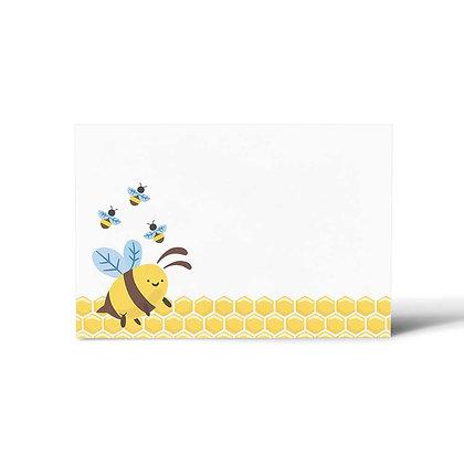 Bumble Bee Flat Cards (Set of 40)