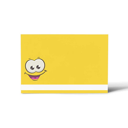 Smiley Flat Cards (Set of 40)