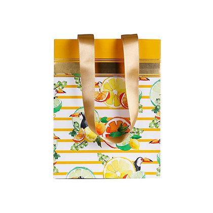 Citrus Summer Small Bags (Set of 3)